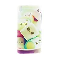 Mert HTC tok Minta Case Hátlap Case Rajzfilmfigura Puha TPU HTC