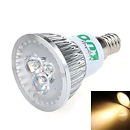 LUO Spot Lampen E14 3 W 270~300 LM 3000-3500 K 3 SMD Warmes Weiß AC 85-265 V