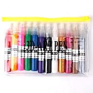 12 PCS Nail Art 3D Art Pen Polish Kits