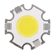 3W COB 280-320LM 6000-6500K Cool White Light LED Chip (9-11V,300uA)
