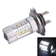 H7 80W 6500K 680LM 12xLED SMD LED White Light Car Nebelscheinwerfer Scheinwerfer (DC12-24V)