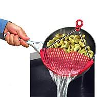 Betere uitbreidbare pot strainer expandablejust lock op spanning voor groenten pasta