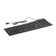KN-105 Portable Waterproof Flexible Wired USB Keyboard