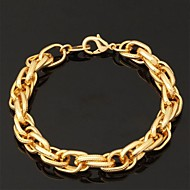 Damen Ketten- & Glieder-Armbänder Armreife ID Armbänder Freundschaftsbänder Vintage Armbänder Armband Modisch vergoldet Schmuck Für