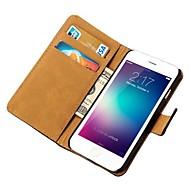 caso carteira de couro genuíno com os titulares de cartão para o iPhone 6 (cores sortidas)