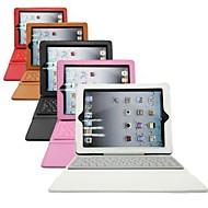capa de silicone w / teclado bluetooth 3.0 para ipad 2 ipad 3 e iPad 4 (cores sortidas)