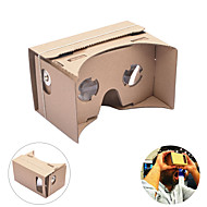 NEJE DIY Google Cardboard Virtual Reality 3D Glasses VR Tookit for iPhone Android 4-7 Inch Cellphone