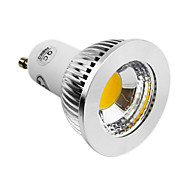 5W GU10 Focos LED 1 COB 400-450LM lm Blanco Natural AC 85-265 V