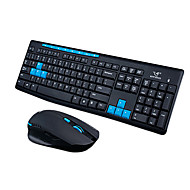 RUYINIAO Wireless Gaming Ultrathin USB keyboard Mouse Kit 1000/1600 DPI