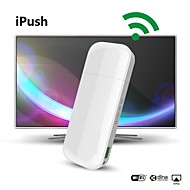 iPush D2 Multi-Media WiFi DLNA AirPlay Display vastaanotin IOS Smart Android TV Box Stick Media Player Mini PC HDMI TV-antenni