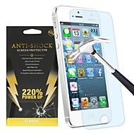 220% strøm opp anti-shock skjermbeskyttelse for iPhone 5 / 5c / 5s