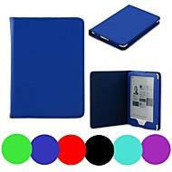 סגנון יצ'י ™ הדוב ביישן כריכת עור דקה חכמה pu מקרה לקובו Glo 6 ebook אינץ '
