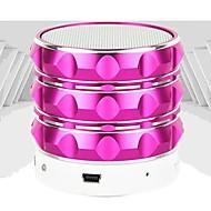 pindu ™ Mini Bluetooth stereo subwoofer højttaler med TF / USB-port og FM Transmitter til mobiltelefon / laptop / tablet pc