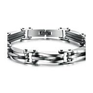 Z&X®メンズファッションの個性チタン鋼のブレスレットの宝石