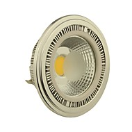 10W G53 LED Spotlight AR111 1 COB 1000-1100LM lm Warm White AC 12 / DC 12 V