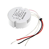 0.3A 19-24w dc 50-90v al driver costante di alimentazione CA 85-265V circolare esterna di corrente per plafoniera led