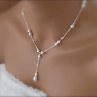 shixin®ファッション美しい白い真珠のペンダントネックレス(1個)
