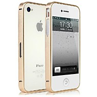 Ultra Slim Aluminium Bumper Frame with Signal Enhancer for iPhone 4/4S (Assorted Colors)