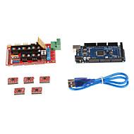 3d printer styrekort kit sæt (ramper 1.4 + 2560 R3 + 4988 driver)