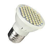 3W E26/E27 LED-kohdevalaisimet MR16 60 SMD 3528 210-240 lm Lämmin valkoinen AC 110-130 V