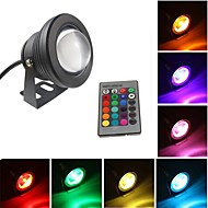 10W Waterproof Outdoor RGB Light LED Underwater Light + 24Key Remote Control (DC/AC 12V)