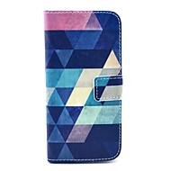 kookos fun® sininen palapeli kuvio PU nahka tapauksessa näyttö protecter, seistä ja stylus iPhone 6s plus / 6 plus