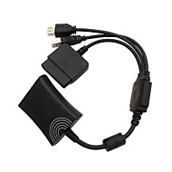 PS2 to Xbox 360 PS3 Controller Converter Cable Cord for PS3 Microsoft Xbox 360