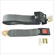 carking ™ colo cinto de segurança do carro ajustável de três pontos cinto de segurança retrátil-cinza