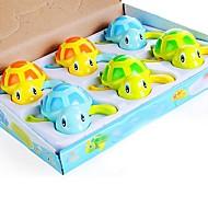 6stk emulational svømning skildpadde vind-up legetøj