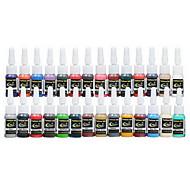 dragonhawk® tetoválás ellátás festék pigment teljes 28 színes 5ml