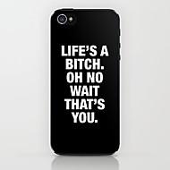 cas dur de modèle de vie pour iphone 5/5 ans