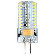 Lâmpada Espiga/Luminária de Pin-Duplo G4 4 W 360 LM 6000-6500 K Branco Frio 72 SMD 3014 DC 12/AC 12/AC 24/DC 24 V