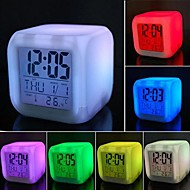 Coway Colorful Decompression LED Alarm Clock Nightlight