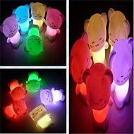 coway kleurrijke gelukkige kat geleid nachtlampje