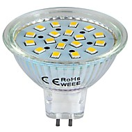 Spot LED Blanc Chaud GU5.3(MR16) 3W 18 SMD 2835 260 LM DC 12 V