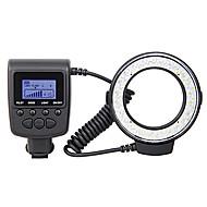 RF-550D Macro LED Ring Flash for Canon,Nikon,Olympus,Panasonic,Pentax DSLR