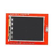 """DIY 2.4 """"TFT LCD érintőképernyő pajzs bővítőkártya az Arduino uno"""