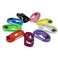2m V8 Micro USB Colors Round Data Cable for Samsung and Other Phone (Assorted Colors)
