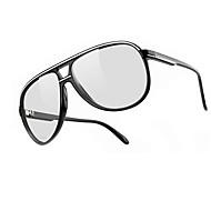 ユニセックスフラッシュなしの3Dメガネ、テレビ、映画、コンピュータ、特殊な偏光レンズのステレオ3Dメガネ