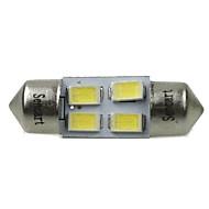 31mm (SV8.5-8) 2w 4x5730smd120-1600lm 6000-6500K weißes Licht LED-Lampe für Auto-Leselampe (ac12-16v)
