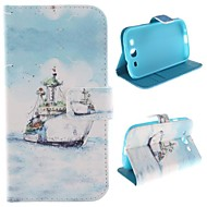 The Ship Design PU Leather Full Body Protective Case with Stand for Samsung Galaxy S3 I9300