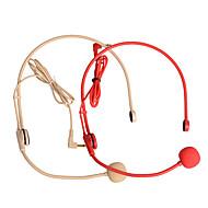 micrófono del auricular para el rojo guiador, amarillo