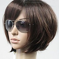 Woman's Vogue Brown Straight Short Synthetic Wigs
