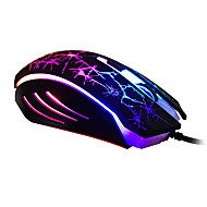 Ajazz Optical 6D Luminous USB Wired Gaming Mouse 2400DPI