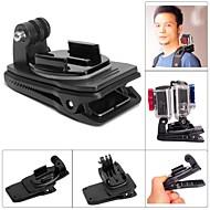 Fat Cat M-DR Dual-Cam Rec-mount Clip Backpack Clip Mount for GoPro Hero 4/ 3+ / 3 / 2 / 1 - Black