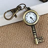 Women's Key Style Vintage Alloy Quartz Analog Necklace Watch(1Pc)