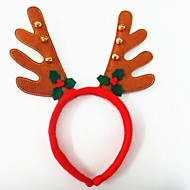 julefrokost sød hjorte gevirer hat med klokker hår pandebåndet
