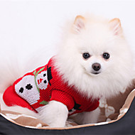 Natale Style Snowman modello maglione per Animali Cani (formati assortiti)