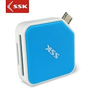 ssk® scrm068 micro USB 2.0 alle i 1 OTG kortlæser til microSDHC-sdhc