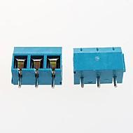 5.08mm 300v16a אספקת חשמל kf301-3p בלוק מסוף (10pcs)